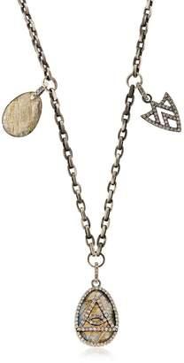 Jade Jagger Spirit Eye Charm Necklace