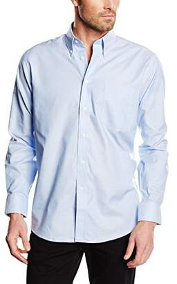 "Fruit of the Loom Men's Oxford Long Sleeve Shirt,14.5"" Collar (Manufacturer Size:)"