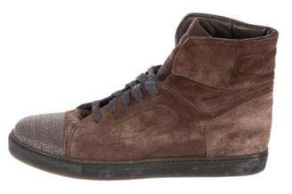 Brunello Cucinelli Monili Cap-Toe Sneakers