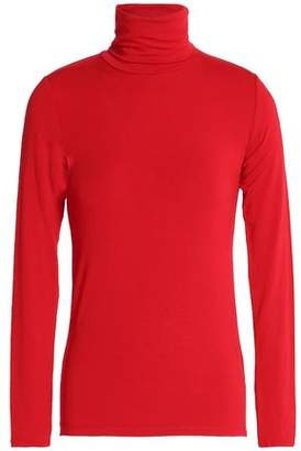 Majestic Filatures Jersey Turtleneck Top
