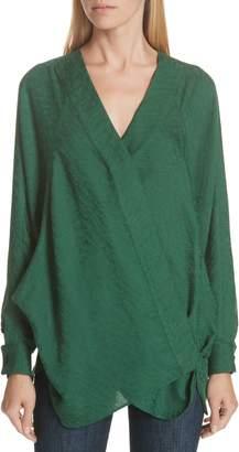 Smythe Jacquard Kimono Blouse