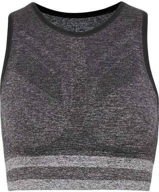 LNDR - Shape Stretch-knit Sports Bra - Gray