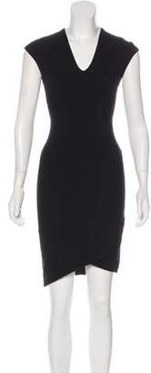 Helmut Lang Knee-Length Sheath Dress