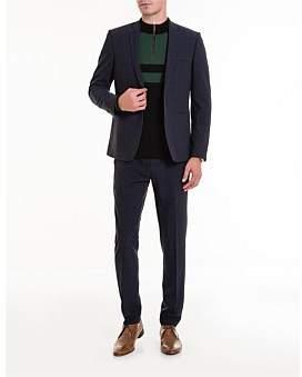 Studio.W Navy Seersucker Suit Trousers