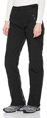 Outdoor Ventures Women's Sleek Waterproof Windproof Softshell Fleece Hiking Ski Pants
