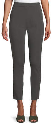 Misook Knit Ankle-Zip Legging Pants, Plus Size
