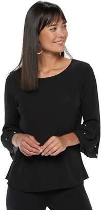 Elle Women's Bell-Sleeve Top