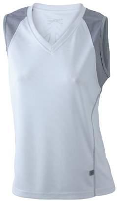 James & Nicholson Women's Running Tank - Maternity T-Shirt -(Manufacturer size: )