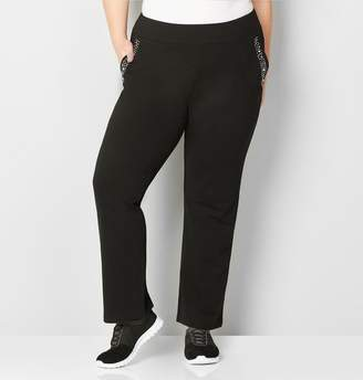 Avenue Pearl Stud Wide Waistband Active Pant