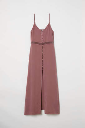 H&M Dress with Buttons - Vintage pink - Women