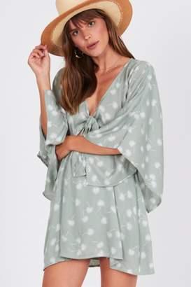 Amuse Society Mint Floral Dress