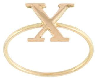 Wouters & Hendrix Gold 'X' ring