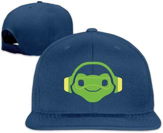 Oops Times Cap Solid Adult Lucio Overwatch Video Game Flat Bill Baseball Cap