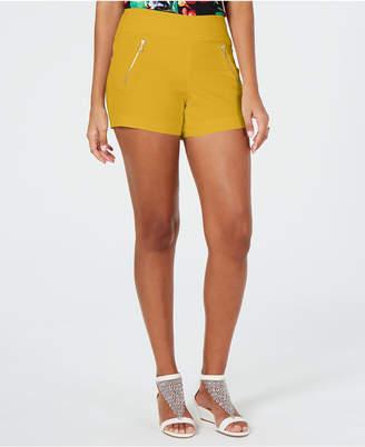 Thalia Sodi Zip-Pocket Shorts
