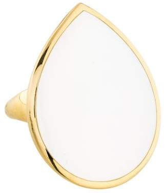 Ippolita 18K Mother of Pearl Large Teardrop Ring w/ Tags