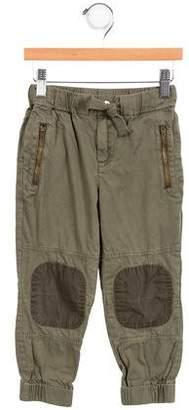 Stella McCartney Boys' Zip-Accented Cargo Pants