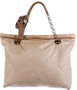 Lanvin Amalia Cabas Tote $425 thestylecure.com