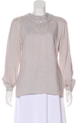 c35aa6b5ac Giorgio Armani White Women's Longsleeve Tops - ShopStyle