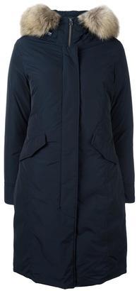 Woolrich long arctic parka coat $786.19 thestylecure.com