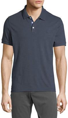 Original Penguin Men's Jaspe Striped Short-Sleeve Polo Shirt