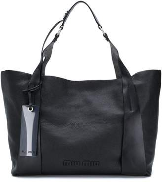 6f6b36f7e061 Miu Miu Black Duffels   Totes For Women - ShopStyle UK