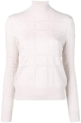Bottega Veneta intrecciato cashmere sweater