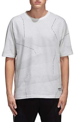 adidas Printed Cotton T-Shirt