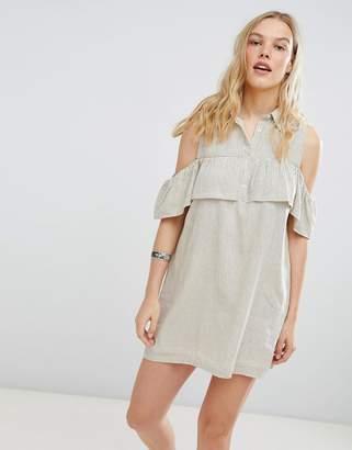 Deby Debo Jinette Stripe Shirt Dress
