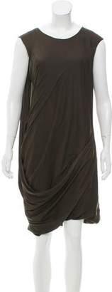 Helmut Lang Sleeveless Layered Dress