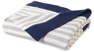 "VCNY Prepster Stripe Throw (50""x60"") - VCNY Home"