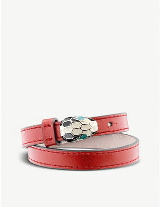 Bvlgari Serpenti Forever special edition leather bracelet