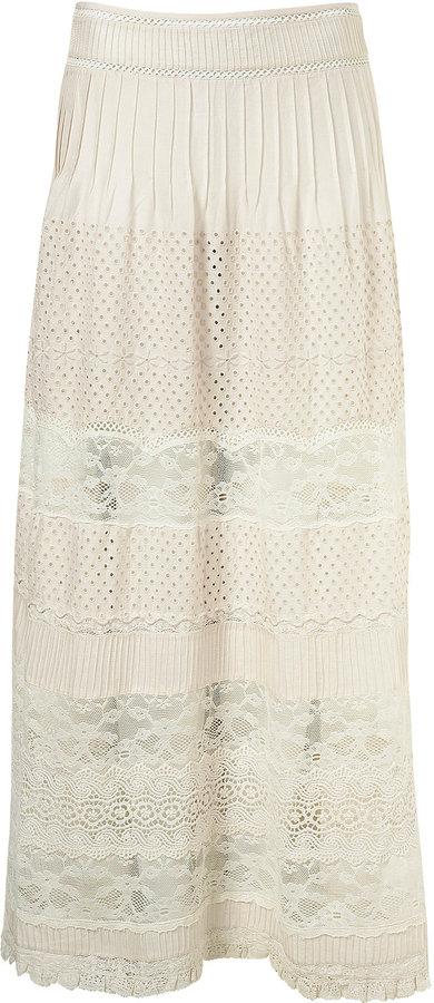 Premium Crochet Maxi Skirt