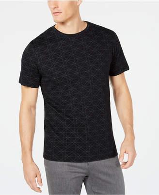 Ryan Seacrest Distinction Men's Geometric T-Shirt