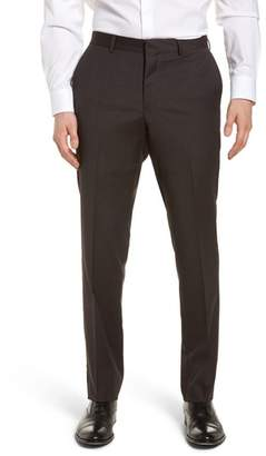 Nordstrom Tech-Smart Flat Front Stretch Wool Pants