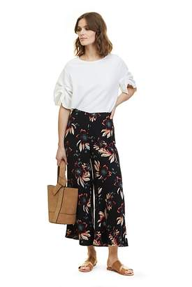 Country Road Hibiscus Print Culotte