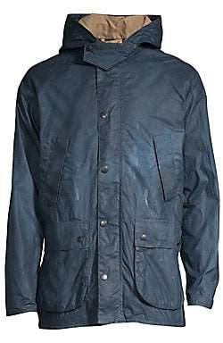 Barbour Men's Lightweight Wax Hooded Jacket
