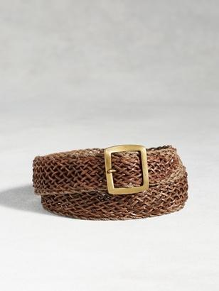 Artisan Braid Belt $248 thestylecure.com