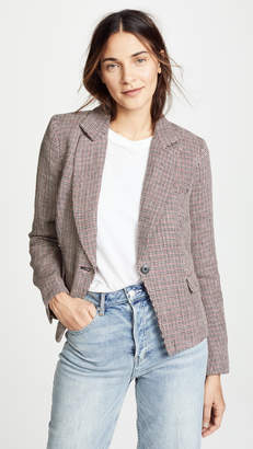 Free People Chess Blazer