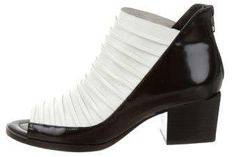 3.1 Phillip Lim3.1 Phillip Lim Leather Peep-Toe Boots
