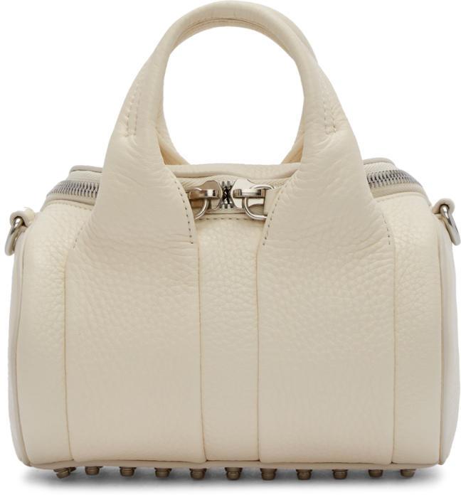 Alexander Wang Ivory Mini Rockie Bag