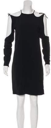Tom Ford Cold Shoulder Knee-Length Dress