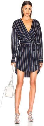 A.L.C. Imogen Dress in Navy | FWRD