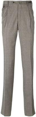 Pt01 creased slim-fit trousers