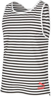 Puma Men's Striped Tank Top