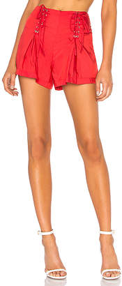 LPA Lace Up Short