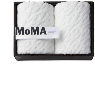 MoMA STORE (モマ ストア) - MoMA STORE MoMA ジャカード フェイス タオル(2枚セット)