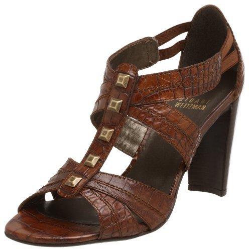 Stuart Weitzman Women's Fortuna T-Strap Sandal