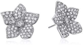 """Kate Spade Pave Bloom Studs"""" Blooming Pave Bloom Stud Earrings"""