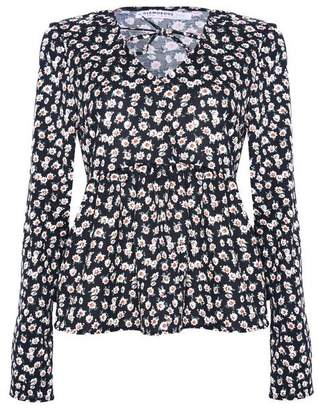 Glamorous **Floral Peplum Blouse by Tall