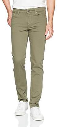 J. Lindeberg Men's Solid Stretch Slim Fit Jeans